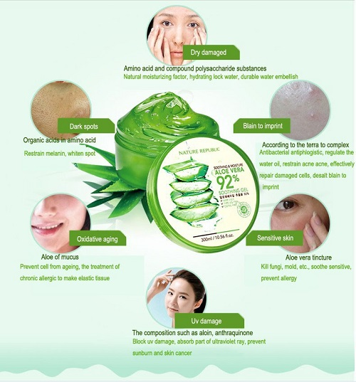 Manfaat Nature Republic Aloe Vera Shooting Gel