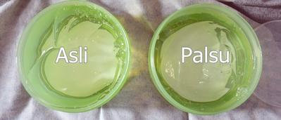 Nature Republic Aloe Vera Isi Asli vs Palsu