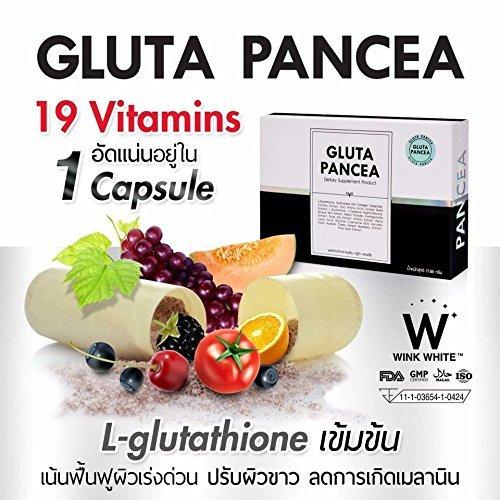 gluta pancea dengan 19 vitamin
